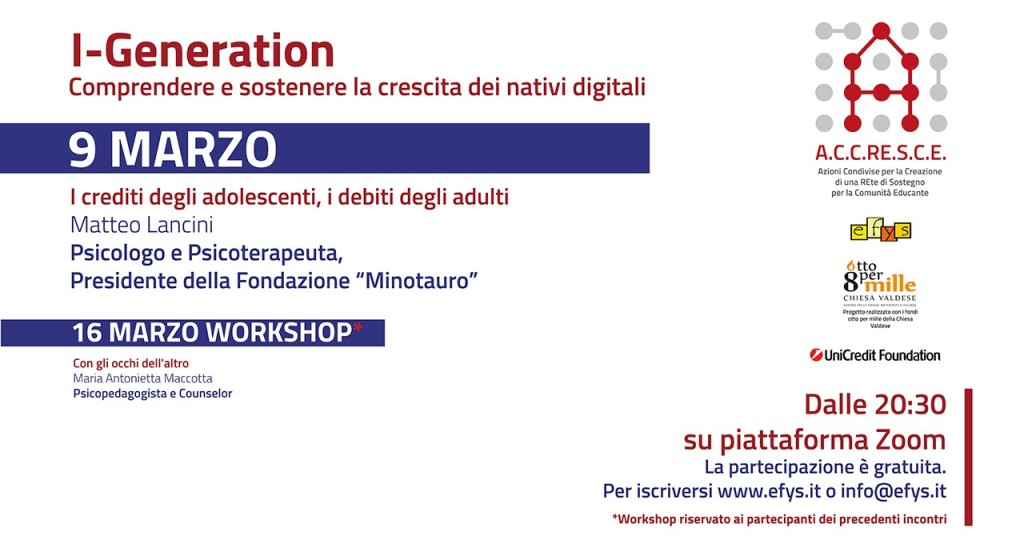 Banner 9 marzo-Seminari-I-Generation_Progetto-ACCRESCE