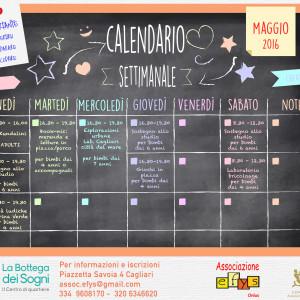 La Bottega: Calendario maggio