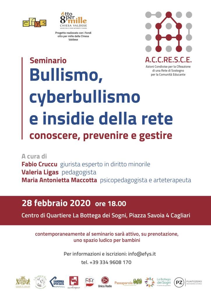 Locandina Seminario Cyberbullismo-ACCRESCE
